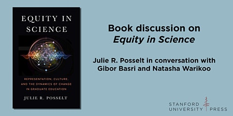 Book discussion on Equity in Science tickets