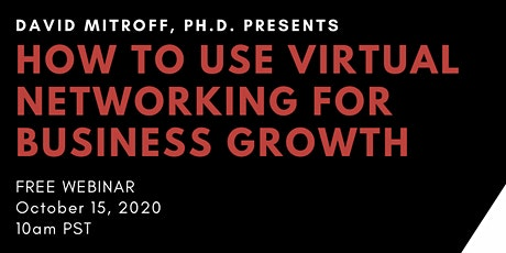 How To Use Virtual Networking for Business Growth tickets