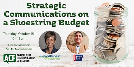 Strategic Communications on a Shoestring Budget tickets