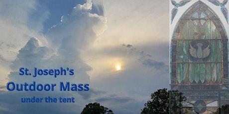 Outdoor Mass at St. Joseph's tickets