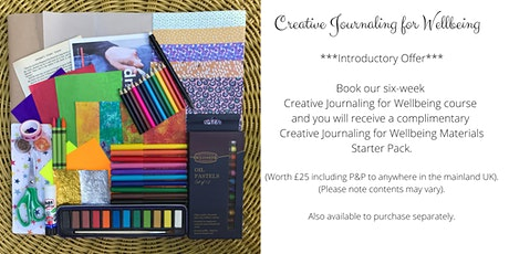 Creative Journaling for Wellbeing (Sat 10:30-12pm) Individual workshops tickets