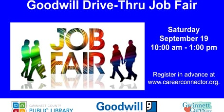 Goodwill Drive-Thru Job Fair tickets