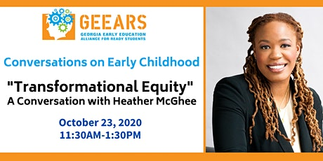 Transformational Equity: A Conversation with Heather McGhee tickets