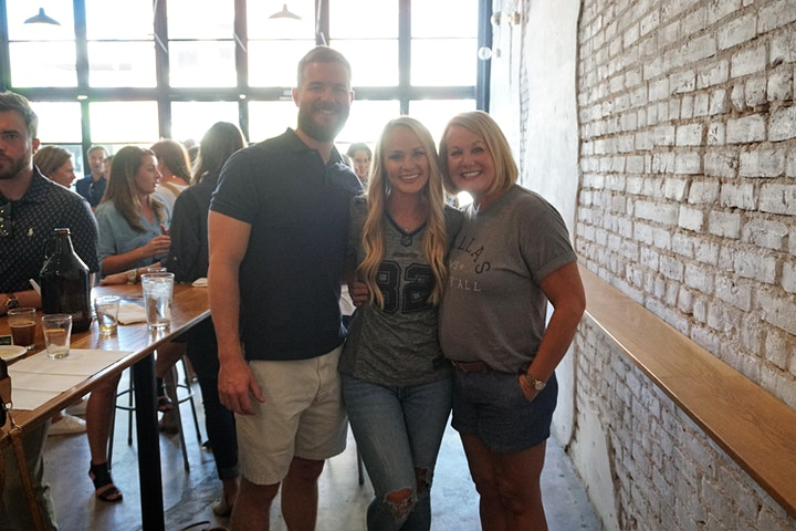Touchdowns & Tastings image