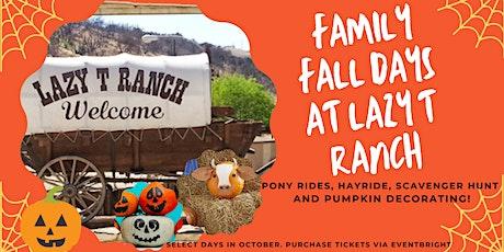 Family Fall Days at the Farm tickets