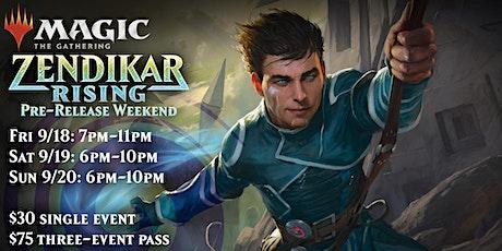 Magic: the Gathering - Zendikar Rising Pre-release tickets
