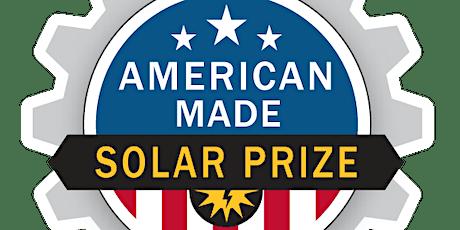 Solar Prize Challenge Workshop Series tickets