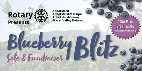 Blueberry Blitz tickets