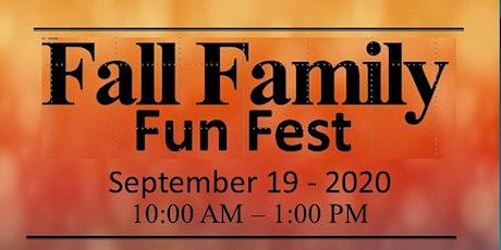 Fall Family Fun Fest 2020 tickets