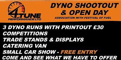 4TunePerformance Ltd Rolling Road Shootout/Openday tickets
