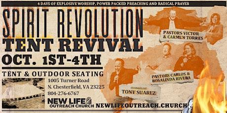 Spirit Revolution Tent Revival- tickets