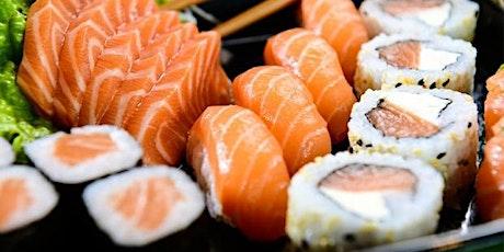 28/09- Aprenda a fazer Sushi, 19h às 22h - R$ 250,00 ingressos