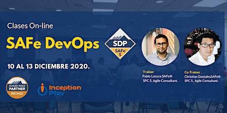 Entrenamiento Online - SAFe DevOps  (SDP) entradas