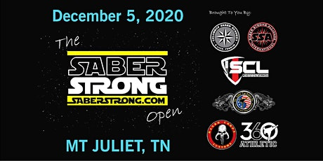 The SaberStrong Open tickets