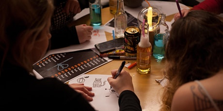 Halloween 2020 | Drink and Draw tickets