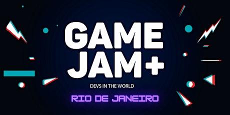 Rio de Janeiro - GameJam+ ingressos