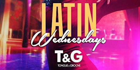 Atlanta's LATIN Wednesday at Tongue and Groove 2 DJs and 2 Environments tickets