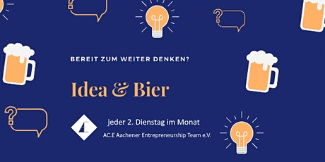 Idea & Beer (online) Tickets