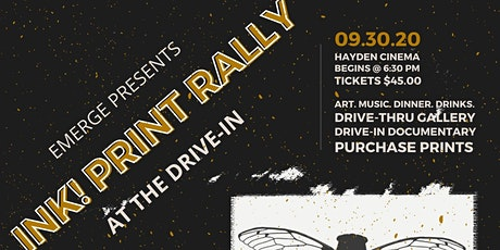INK! Print Rally at the DRIVE-IN tickets