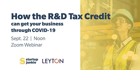 How the R&D Tax Credit can get your business through COVID-19 tickets