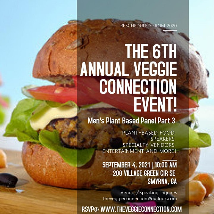 The 6th Annual Veggie Connection Event! image