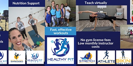 Healthy Fit Instructor Certification tickets