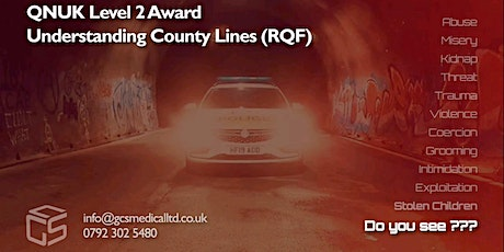QNUK Level 2 award in Understanding County Lines (RQF) tickets