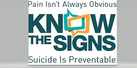 Monthly Event on Mental Health & Wellness - Suicide Awareness & Prevention tickets