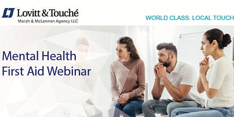 Webinar: Mental Health First Aid tickets