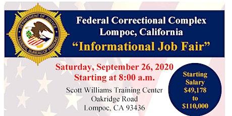 FCC Lompoc Informational Job Fair tickets