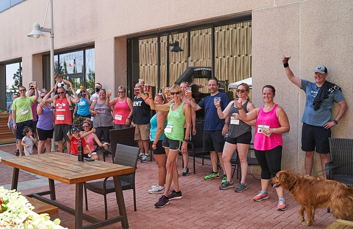 Beer Run - Mistress Brewing   Part of the 2020 Iowa Brewery Running Series image