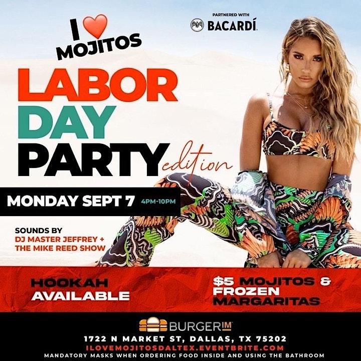 I Love Mojitos Labor Day Party image