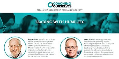 Leading with Humility w. Edgar Schein and Peter Schein tickets