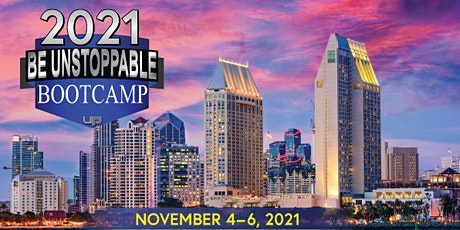 BE UNSTOPPABLE BOOTCAMP 2021 tickets