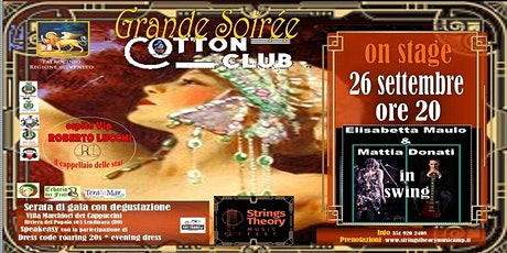 STRINGS THEORY MUSIC FEST - COTTON CLUB - Elisabetta Maulo & Mattia Donati biglietti