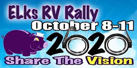 "2020 Elks Rally ""Lite"" tickets"