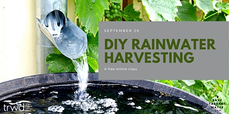 DIY Rainwater Harvesting tickets