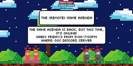 The Game Agenda: LGBTQ+ Gaming Online! tickets