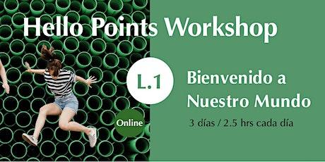 Hello Points Workshop Online boletos