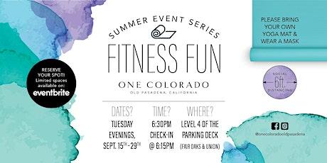 Bar Method Express with Bar Method Pasadena | Fitness Fun Series tickets