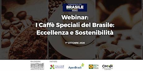 I Caffè Speciali del Brasile: Eccellenza e Sostenibilità biglietti