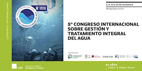8° Congreso Internacional sobre Gestión y Tratamiento Integral entradas
