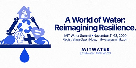 [Virtual] MIT Water Summit 2020 - A World of Water: Reimagining Resilience tickets