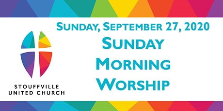 SUNDAY MORNING WORSHIP Service - September 27, 2020 tickets