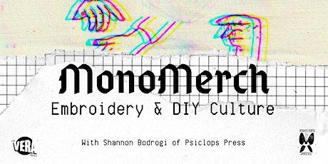 Embroidery & DIY Culture 3-Week Workshop tickets