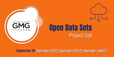 Open Data Sets Project Call tickets