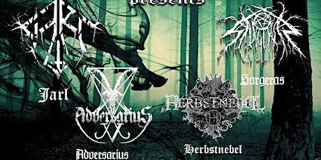 Jarl/Herbstnebel /Sageras/Adversarius Tickets