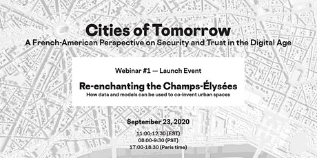 Cities of Tomorrow - Webinar #1 - Launch Event tickets