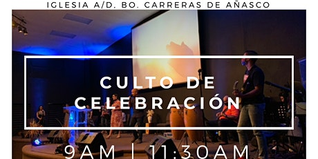 2do Culto de Celebración (11:30AM) entradas