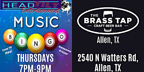 Music Bingo at The Brass Tap - Allen, TX tickets